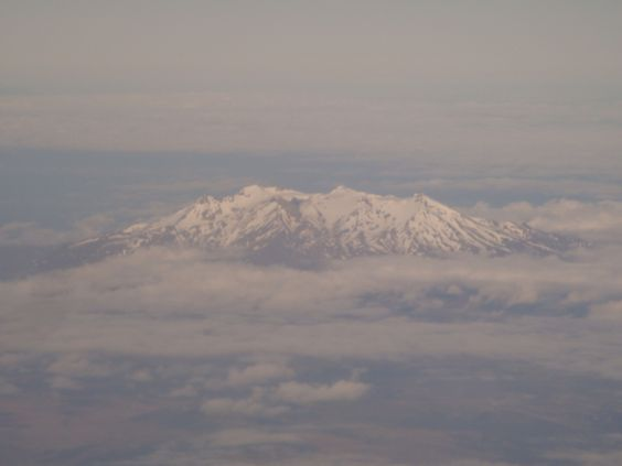 Mt. Ruapehu from the air