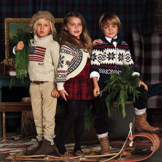 Ralph Lauren...how my kids will dress TOO darling :)