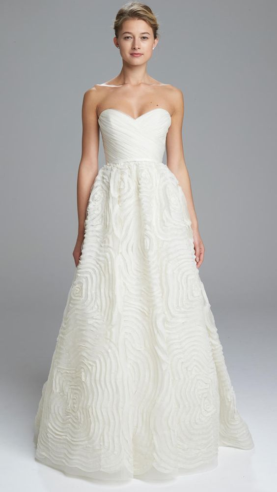 Amsale Spring 2017 | https://www.theknot.com/content/amsale-wedding-dresses-bridal-fashion-week-spring-2017