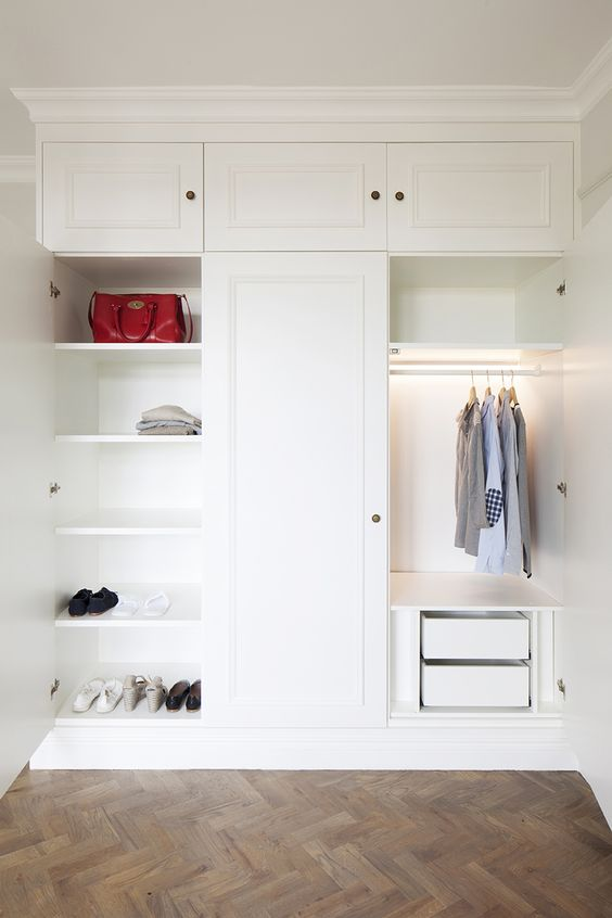 Putney Project #custom #joinery #wardrobes with LED lighting