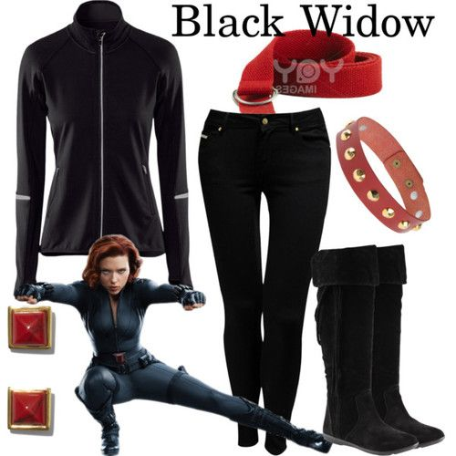 Black Widow/Natasha Romanoff | Dweeb Clothes- Fandoms ...