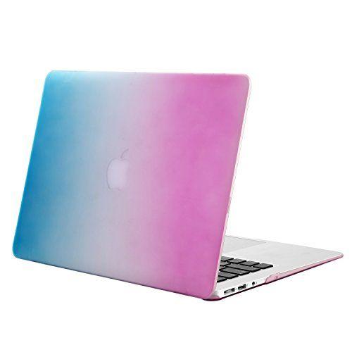 """nice Mosiso - Carcasa rígida de goma de MacBook Air de 11,6"""" (modelos A1370 y A1465), transparente"""