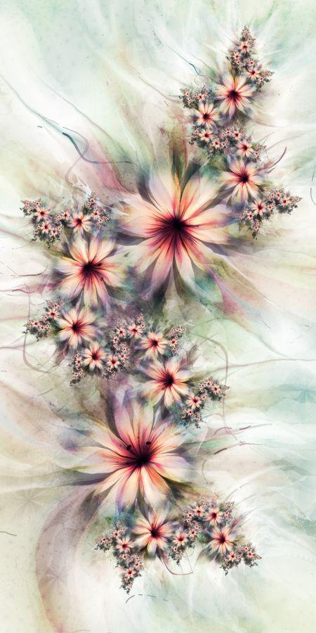 UltraFractal Fiori per Chiara Biancheri, via Behance
