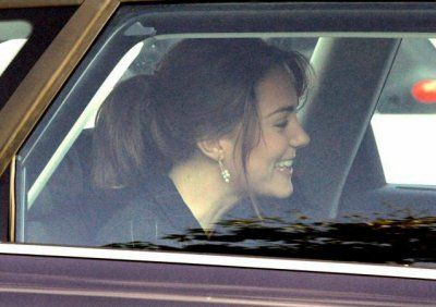 William And Kate Leaving Her Flat - 3 November 2005