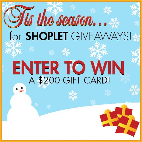 11.181 Shoplet Holiday Giveaway!