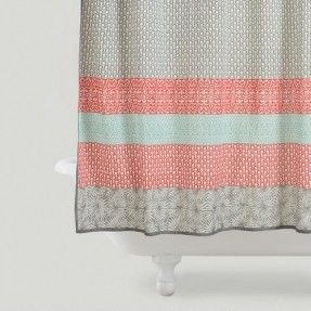 Coral Shower Curtain - Foter