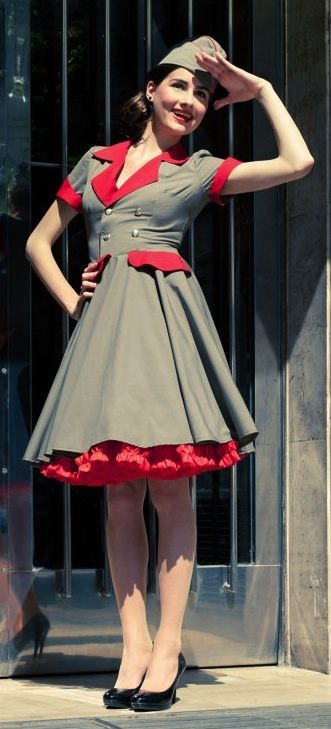 Vestidos pin up