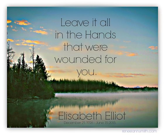 Best Elisabeth Elliot Quotes | Doorkeeper