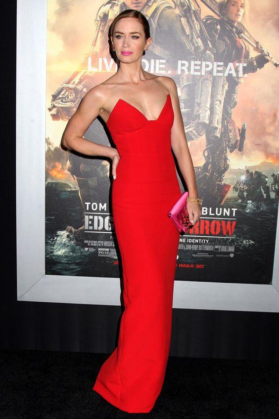 Emily Blunt (Prada) 2014