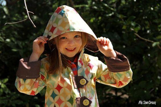 Fly a Kite Raincoat Tutorial