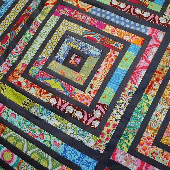 Scrap Quilt-this is beautiful!