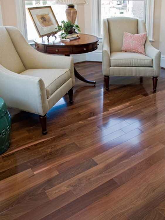 Medium Dark Hardwood Flooring