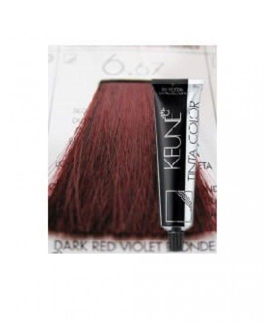Keune Tinta Color Dark Red Violet Blonde 6 67 Color Dark Red Violet