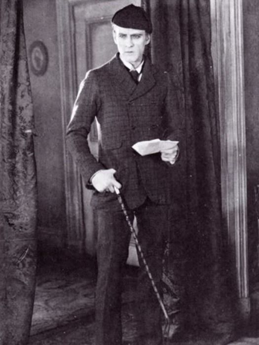 Whenwewerecool John Barrymore As Sherlock Holmes 1922 Sherlock Holmes Stories Sherlock Holmes John Barrymore