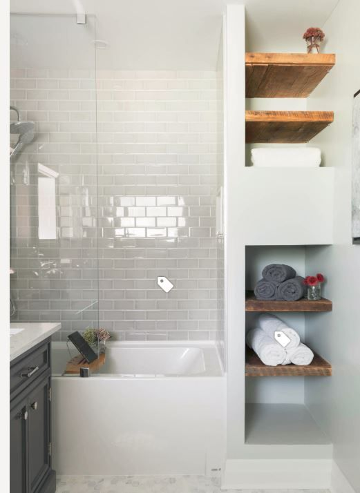 Storage Next To Shower Bathroom Design Small Small Bathroom Remodel Bathroom Remodel Images