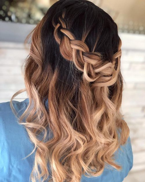 32 Cutest Prom Hairstyles For Medium Length Hair For 2020 Medium Length Hair Styles Cute Prom Hairstyles Prom Hair Medium