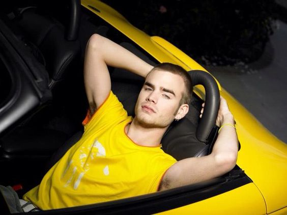 photo of David Gallagher  - car