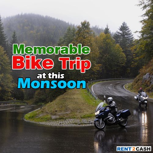 Get Bike On Rent Iconic Bike Trips For Mansoon If You Are In