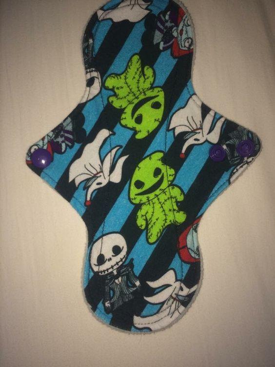 Cloth pad made from Dark Matter Fabric