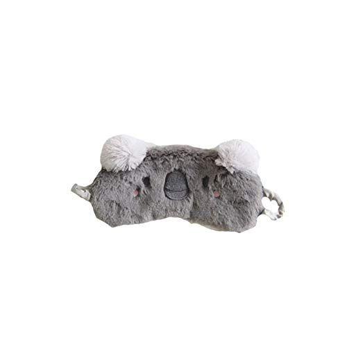 Masque De Sommeil Mignon 3D Moelleux Masque Pour Les Yeux Des Animaux Pour Dormir Respirant Dessin/ée Masque De Bande Dessin/ée Enfants Adultes Femmes Cat Violet