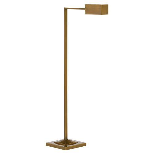 Frieda Industrial Modern Gold Metal L Shaped Floor Lamp Floor Lamp Brass Floor Lamp Lamp