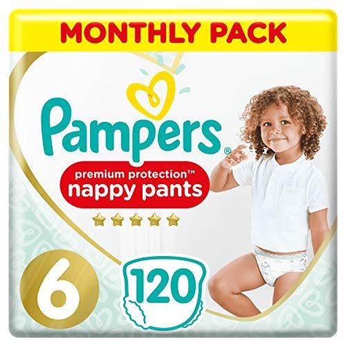 26 4 Pampers Premium Protection Nappy Pants Size 6 120 Nappy Pants 15 Kg Monthly Saving P In 2020 Pampers Nappy Baby Store