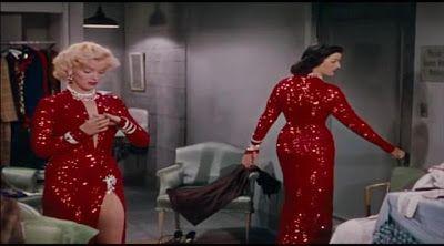 Pantalla de cine | LOS HOMBRES prefieren rubias (doblado) - 1953