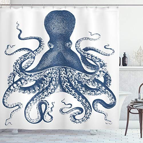 Thinking You Want To Buy An Octopus Shower Curtain If So Good