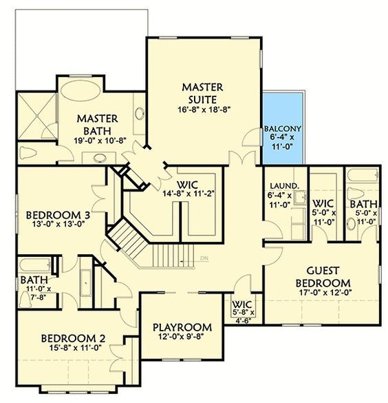 Plan 500001vv Craftsman Keeper With Beds And Laundry Upstairs House Plans Craftsman House Plans House Plans Farmhouse