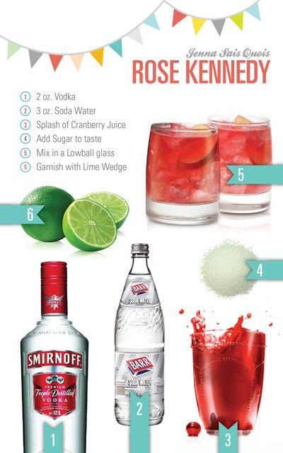 Rose Kennedy Drink