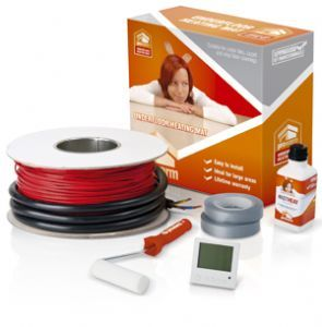 Underfloor heating undertile Loose Cable kit 18.2 to 23.1m2