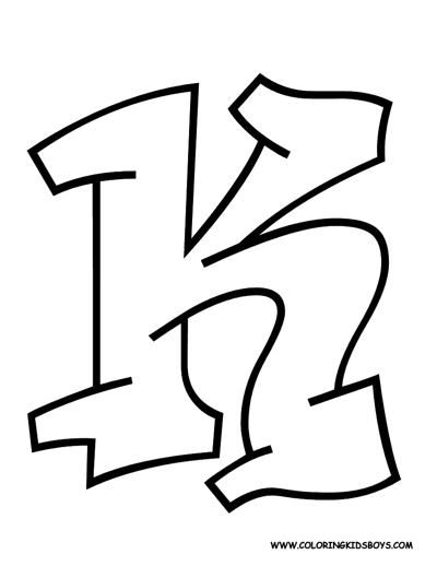 12 best 7 images on pinterest alphabet letters graffiti and
