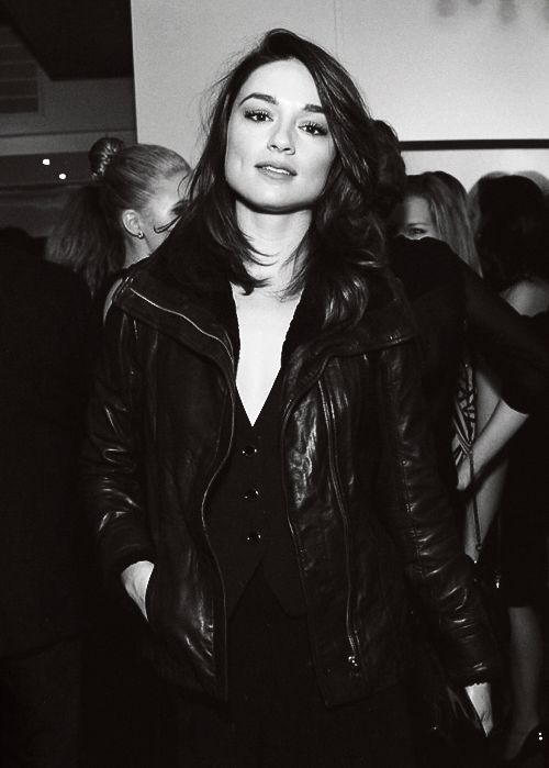 "Crystal Reed at Tyler Shield&39s book launch for ""The dirty side of"