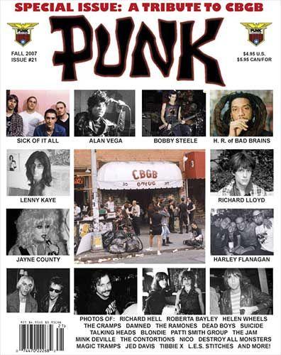 PUNK (continuação) esta fanzine foi a primeira a usar o termo para descrever a cena musical que se passava no CBGB. A revista foi um sucesso instantâneo, com a primeira publicação ter vendido mais de 4, 000 copias e a se tornar instantaneamente num objecto de colecção.