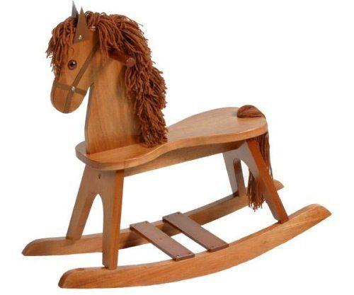 Stork Craft Rocking Horse, Cognac by Stork Craft