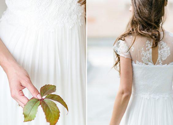 Brautinspiration für den Winter   Friedatheres.com kisui Style: dahlia Photocredit: Christine Jütte Wedding dress Lace Brautkleid Spitze