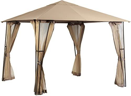 The Perfect Garden Winds Replacement Canopy Top Cover For The Altoona 10 X 10 Gazebo Riplock 350 Patio Lawn Garden In 2020 Gazebo Sun Sail Shade Replacement Canopy