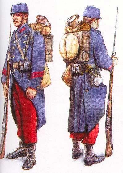 Articles concernants l'uniforme du fantassin français de 1914 à 1918 :: La guerre 14-18