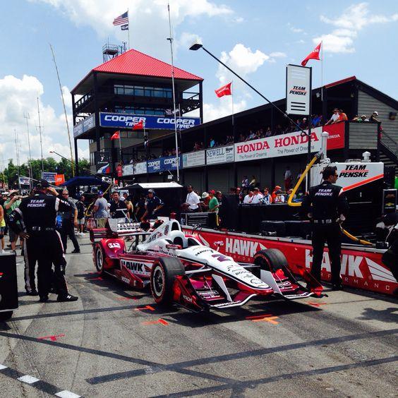 Mid Ohio trackwalk. IndyCar 2016