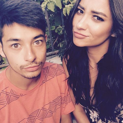 Shay with her brother | Shay Mitchell | Pinterest | Posts ...