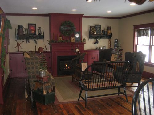 farmhouse december and fireplaces on pinterest. Black Bedroom Furniture Sets. Home Design Ideas