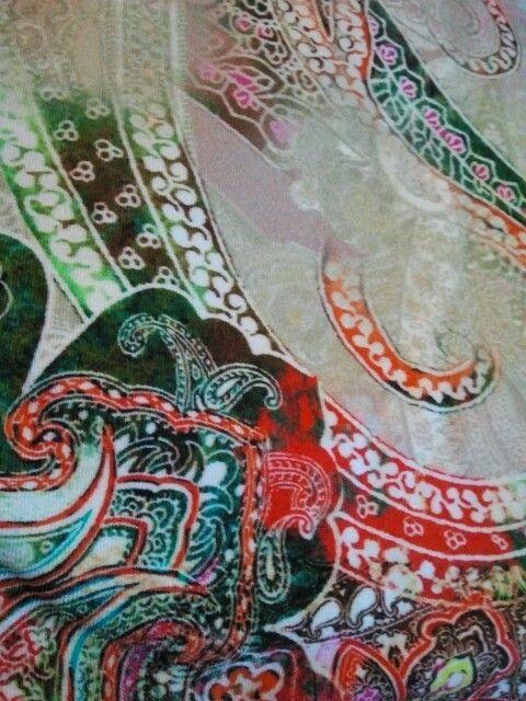 new fabric... love it