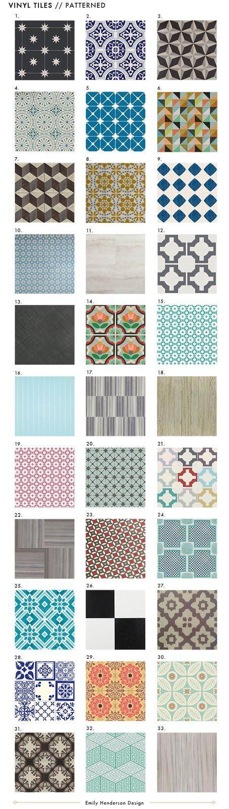 vinyl floor tiles (patterned, solid, wood) wrapup