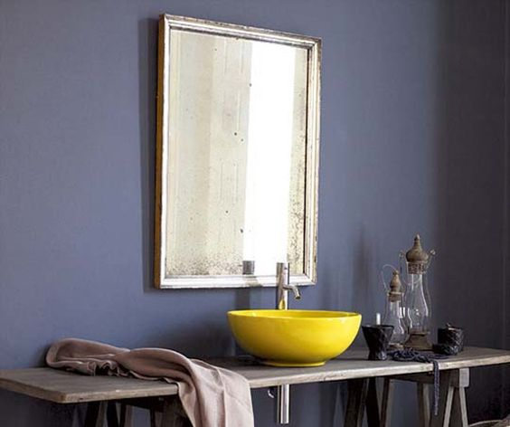 A purplish-blue