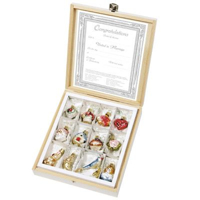 Wedding Gift Ideas Germany : The Bridal Collection - Miniatures 120109 Inge-Glas of Germany ...