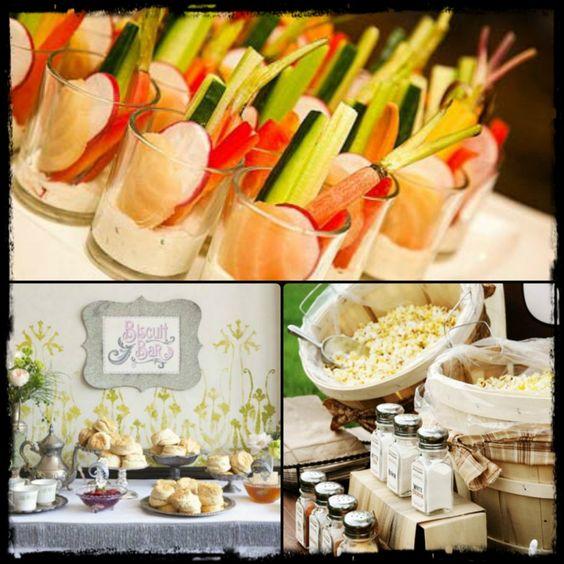 Wedding Snack Foods: Wedding Foodie Fun: Unique