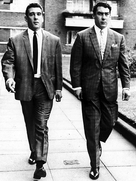 """Twin brothers Ronald """"Ronnie"""" Kray and Reginald """"Reggie"""" Kray were English gangsters who were foremost perpetrators of organised crime in London's East End during the 1950s and '60s."""