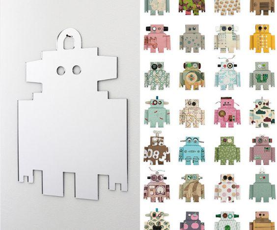 Decorar con figuras de papel