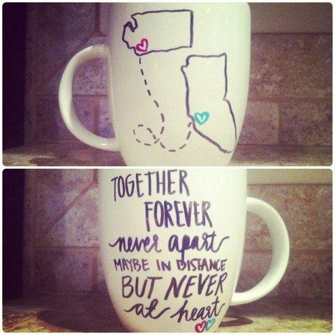 Cute Idea For Friends That Live Far Away