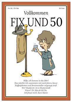 Druckvorlage 'Einladung FIX UND FUFFZIG' bei Wunschblatt ...